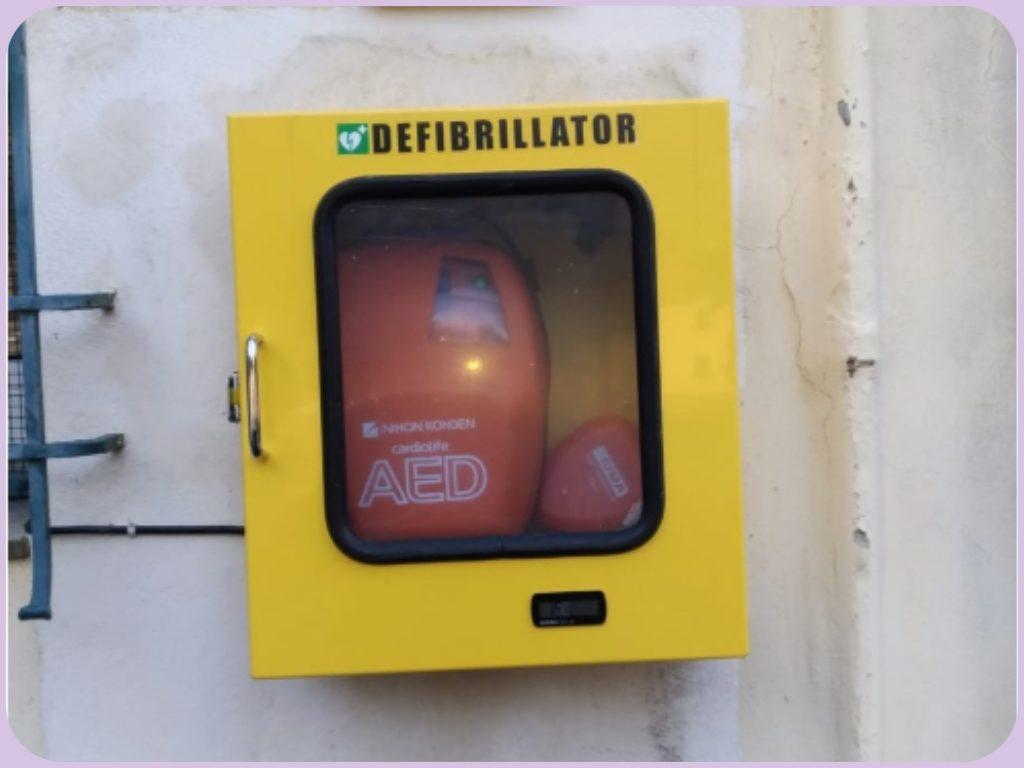 defibrillatore a dolcedo